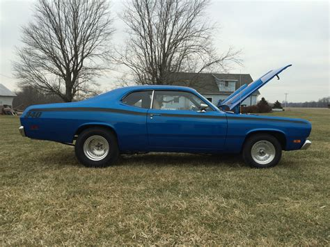 plymouth 340 duster 1970 plymouth duster 340 mopar restomod classic plymouth