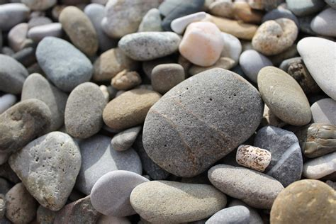 with stones texture