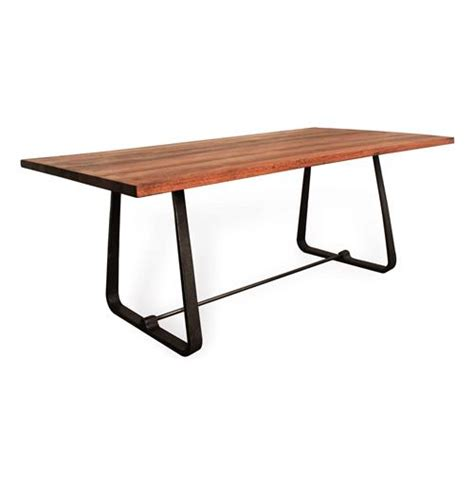 Westin Industrial Reclaimed Wood Modern Dining Table Modern Reclaimed Wood Dining Table
