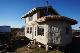 Timber Frame Straw Bale House Plans Timber Frame Straw Bale Tiny House For Sale