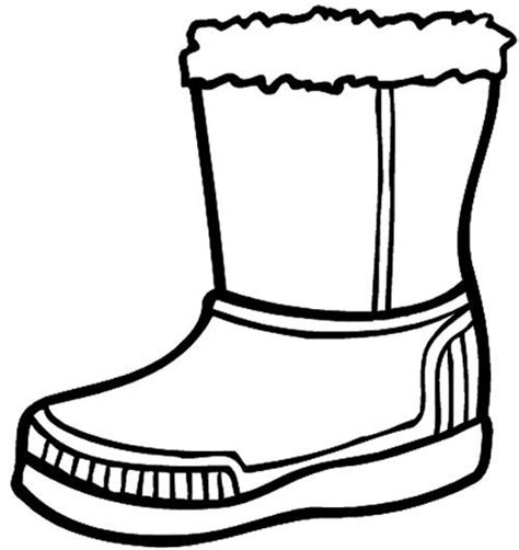 Boot Coloring Page Az Coloring Pages Boots Coloring Pages