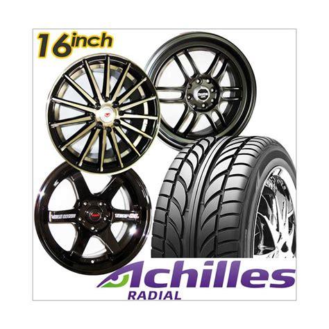 Makronice Paket 3 4 Pcs jual paket cicilan 4 pcs achilles velg racing 16 inch pcd