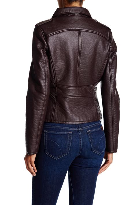 Erna Jaket Supplier Distributor Temurah connection textured faux leather jacket nordstrom rack