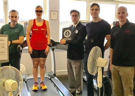 running into the a blind ã s record setting run across america books blind ireland sets astonishing 12 hour treadmill