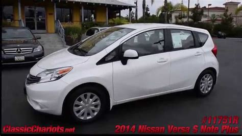 Nissan Vista by Used 2014 Nissan Versa Note S Plus For Sale In Vista At