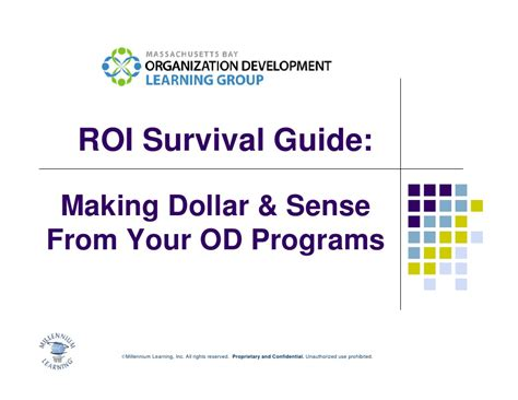 your dollars our sense a simple guide to money matters books roi survival guide dollar sense from your od