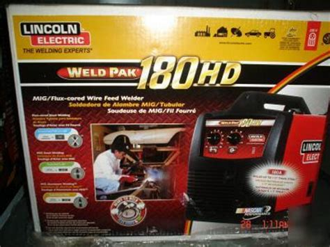 pin lincoln electric weld pak 100hd mig welder on
