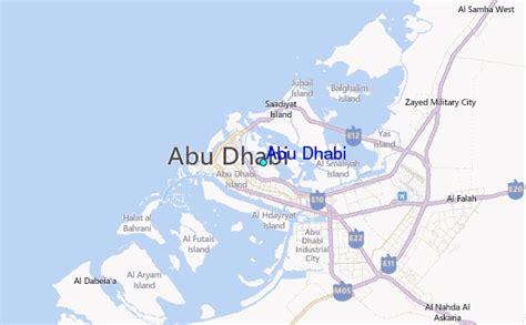 abu dhabi map location abu dhabi tide station location guide