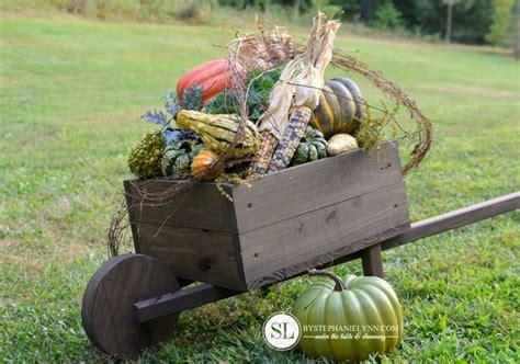 How To Build A Wheelbarrow Planter by How To Make A Wooden Wheelbarrow Planter