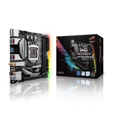 Asus B150i Pro Gamingwifiaura Lga 1151 asus intel rog strix gaming lga 1151 motherboard