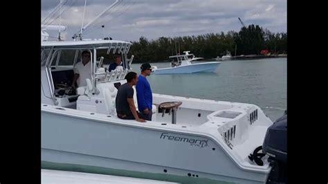 freeman boats with seven marine freeman boat show 2017 youtube