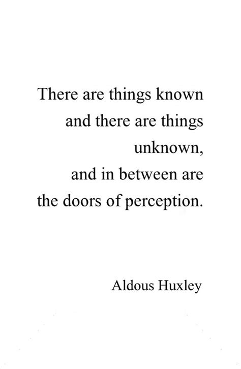 The Doors Of Perception Quotes by The Doors Target And Perception On