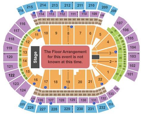 prudential center floor plan prudential center tickets in newark new jersey prudential