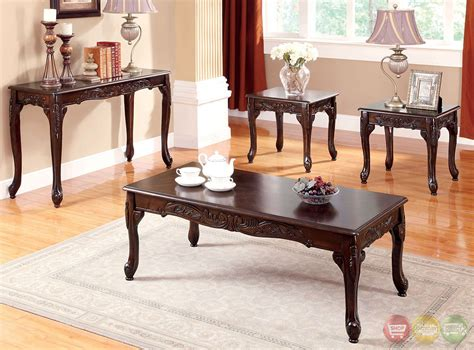 Traditional Table Ls For Living Room - cheshire traditional cherry accent tables with