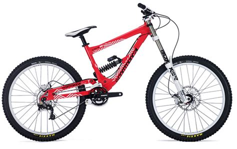 commencal supreme dh 2010 gamme commencal 2010
