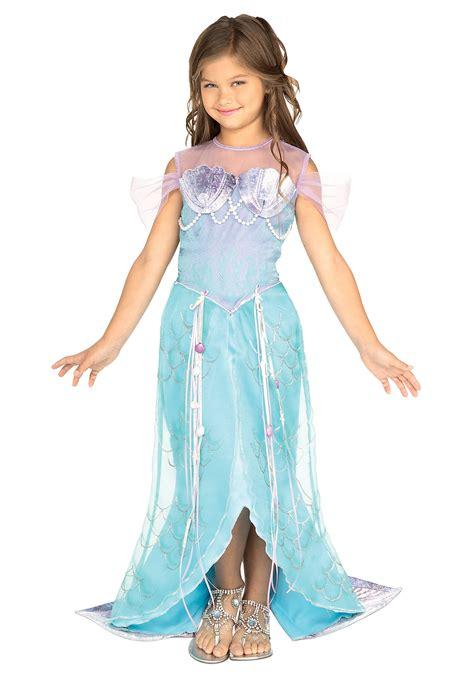 mermaid costume child mermaid princess costume