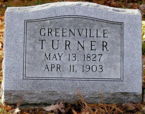 Greenville County Birth Records Greenville Turner 1827 1903 Find A Grave Memorial