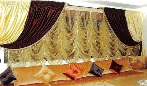 Les Rideaux Du Salon Marocain by Rideaux Voilages Salon Design Marocain D 233 Co Salon Marocain