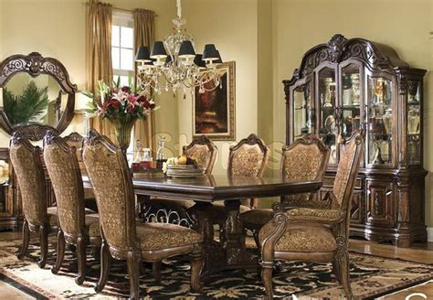 Michael Amini Dining Room Set Quot Michael Amini Quot Vintage Fruitwood Dining Room Set Court Collection