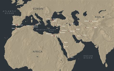 middle east muslim map ashmolean eastern yousef jameel centre for