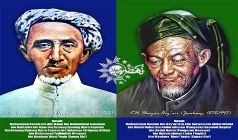 biography of kh ahmad dahlan sebelum dan saat k h ahmad dahlan dan k h hasyim asy ari