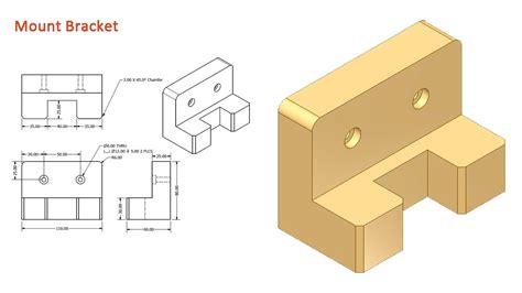 pattern 3d sketch inventor mount bracket video tutorial autodesk inventor youtube