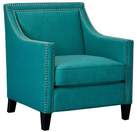 elsinore accent chair teal aptb