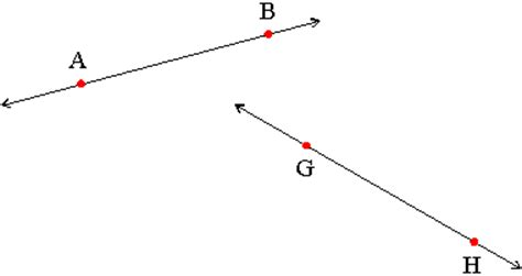Basic Terms Line Geometry Example