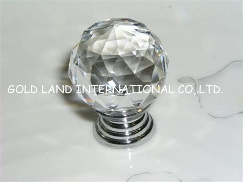 Glass Handles And Knobs by D20mm Free Shipping Transparent Glass Cabinet