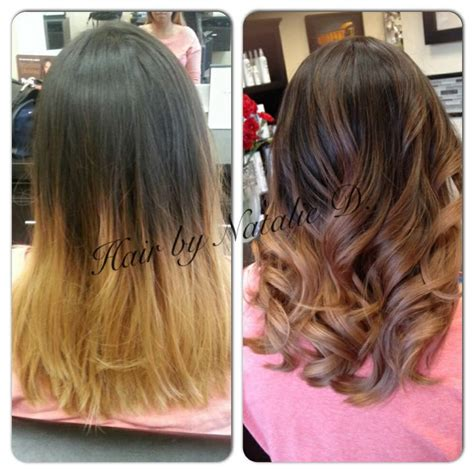 balayage highlights for grey hair before and after balayage hair before after before and after balayage and
