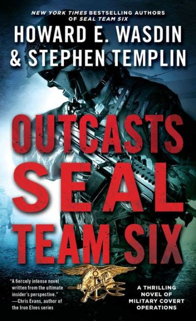 libro seal team six outcasts a seal team six novel by howard e wasdin stephen templin paperback barnes noble 174