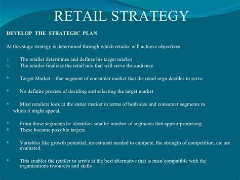 retail sales plan template retail strategy
