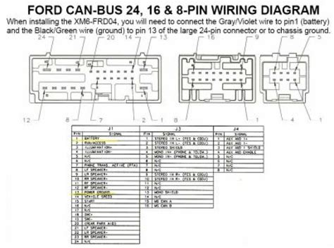 ford radio wiring harness diagram car audio wire wiring