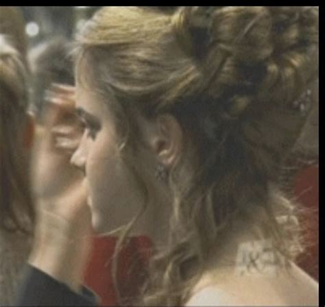 emma watson yule ball hairstyle hermione granger s yule ball hair from the back emma