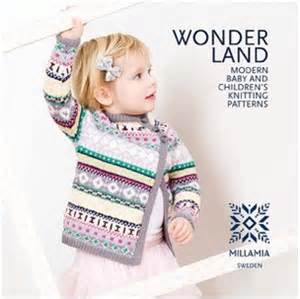 Wonderland new contemporary baby amp children s knitting pattern