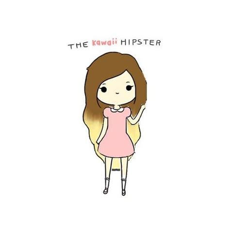 imagenes hipster kawaii the kawaii hipster made by elaine p found on polyvore
