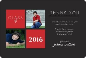 Thank You Card Template Graduation Money by Gray And Graduation Announcement Graduation