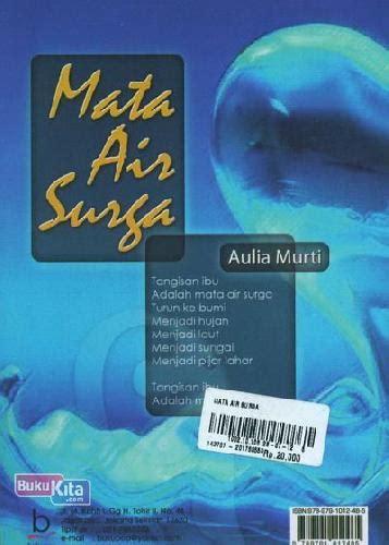 Buku Air Mata Surga by Bukukita Mata Air Surga Toko Buku