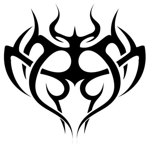 tribal heart tattoo designs tribal designs