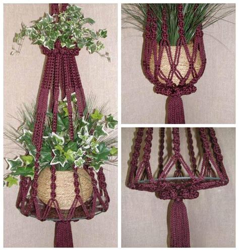 How To Make A Macrame Hanger - 25 diy plant hangers with tutorials diy crafts