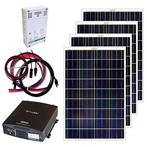 grape solar gs  kit  watt  grid solar panel kit