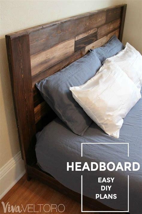 make your own headboard cheap best 25 rustic wood headboard ideas on pinterest rustic