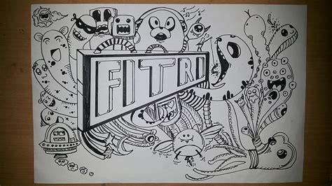fvckinleader blog belajar membuat doodle art bagi pemula