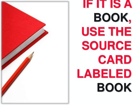 how to make source cards mla how to make mla source cards