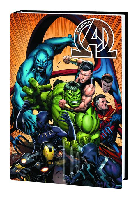 avengers by jonathan hickman may150813 new avengers by jonathan hickman hc vol 02 previews world