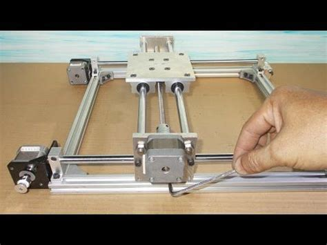 homemade reprap prusa  printer frame diy    stage