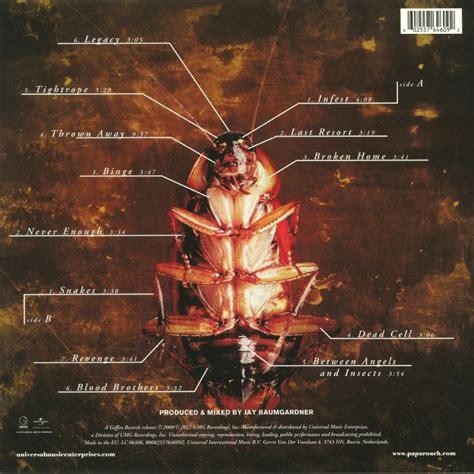 Kaos Papa Roach 01 papa roach infest remastered vinyl at juno records