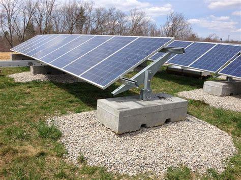 Ballasted Solar Racking by Brookfield Solar Installation Patriot Solar