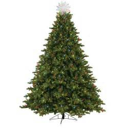 general electric 7 5 pre lit just cut norway spruce tree