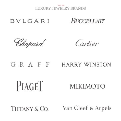 Mba Luxury Brand Management Jewelry by Jewelry Luxury Brands